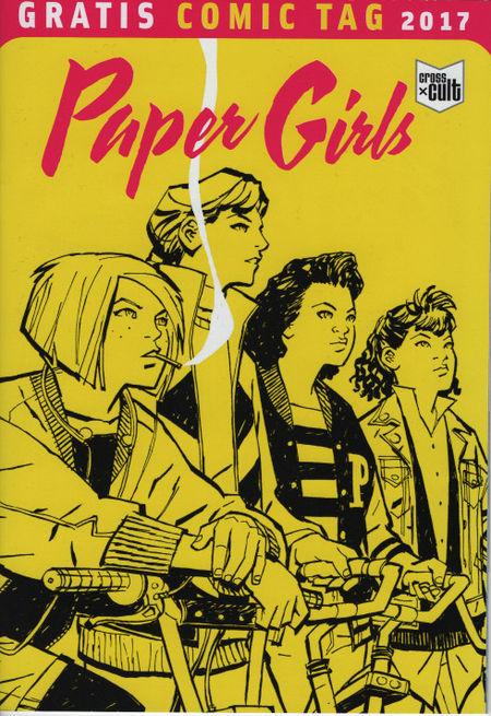 Paper Girls - Gratis Comic Tag 2017 - Das Cover