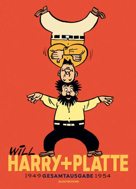 Harry und Platte Gesamtausgabe – 1949 - 1954 - Das Cover