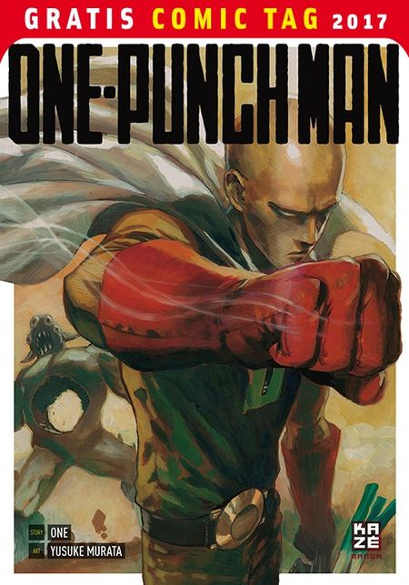 One-Punch Man - Gratis Comic Tag 2017 - Das Cover