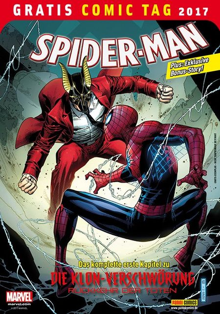 Spider-Man - Gratis Comic Tag 2017 - Das Cover