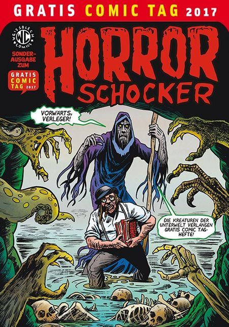 Horror Schocker– Gratis Comic Tag 2017 - Das Cover