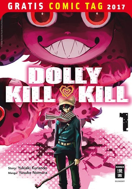 Dolly Kill Kill – Gratis Comic Tag 2017 - Das Cover