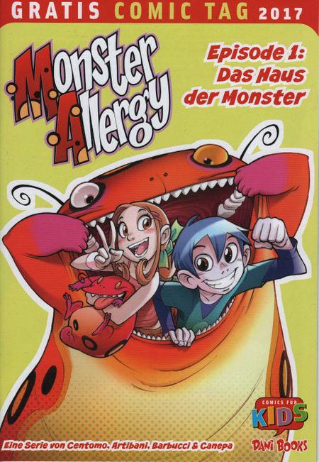 Monster Allergy Episode 1: Das Haus der Monster - Gratis Comic Tag 2017 - Das Cover