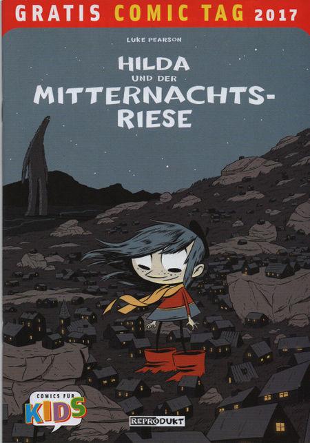 Hilda und der Mitternachtsriese - Gratis Comic Tag 2017 - Das Cover