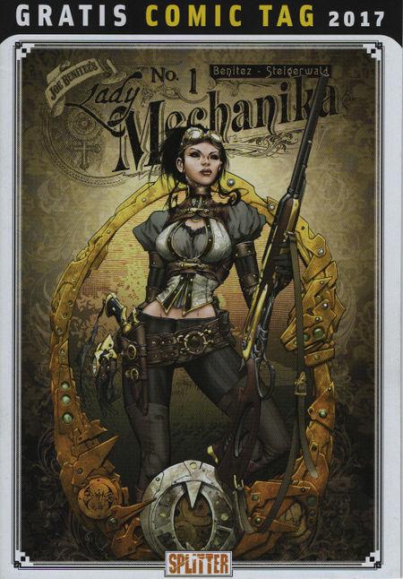 Lady Mechanika No. 1 - Gratis Comic Tag - Das Cover