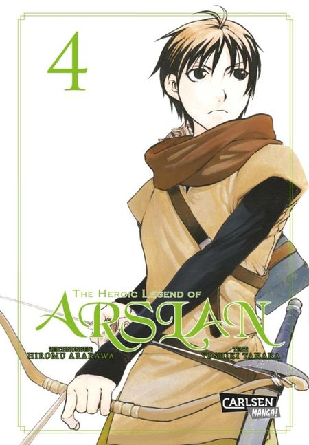 The heroic Legend of Arslan 4 - Das Cover