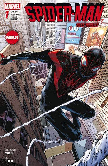 Spider-Man: Miles Morales 1 - Das Cover