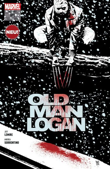 Old Man Logan 2 - Das Cover