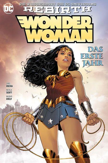 Wonder Woman: Das erste Jahr - Das Cover