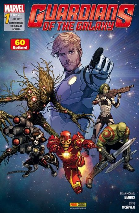 Guardians of the Galaxy Special 1 - Das Cover