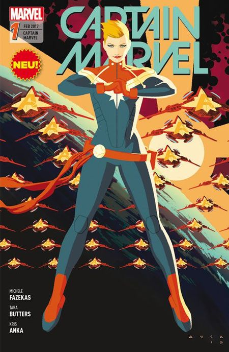 Captain Marvel 1 - Das Cover
