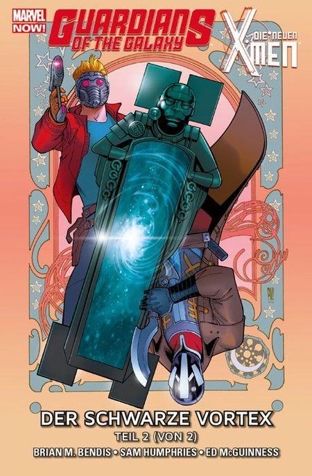 Guardians of the Galaxy & Die neuen X-Men: Der schwarze Vortex Teil 2 - Das Cover