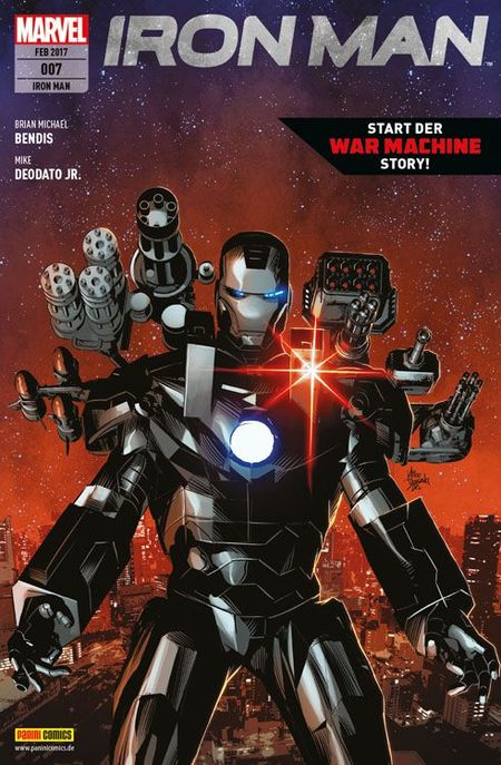 Iron Man 7 - Das Cover