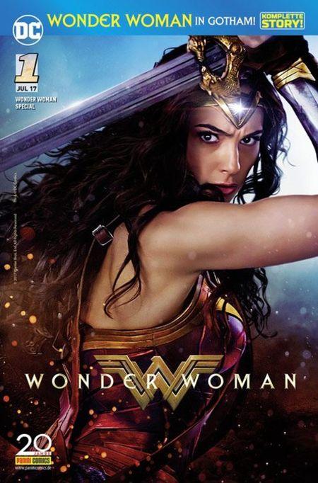 Wonder Woman Special 1: Wonder Woman in Gotham - Das Cover