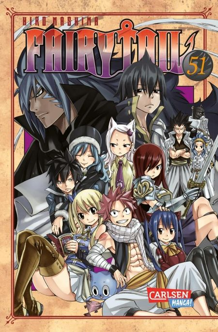 Fairy Tail 51 - Das Cover