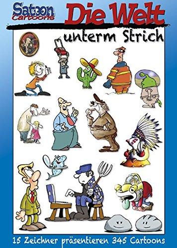 Satoon Cartoons: Die Welt unterm Strich - Das Cover