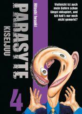 Parasyte - Kiseijuu 4 - Das Cover