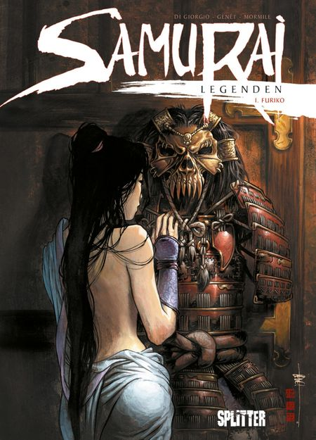 Samurai Legenden 1 - Das Cover