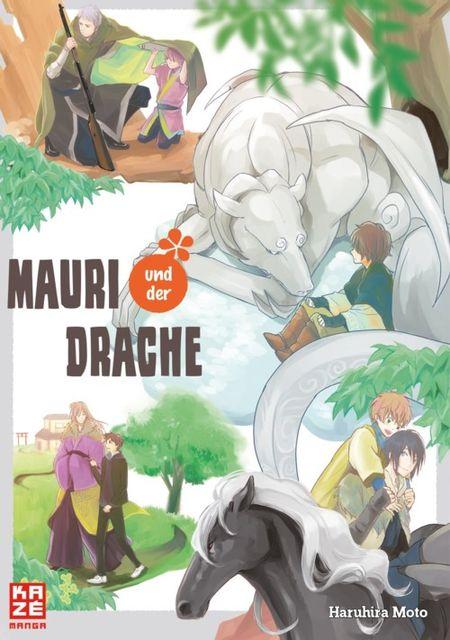 Mauri und der Drache 1 - Das Cover