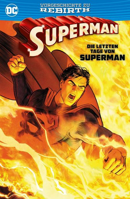 Superman: Die letzten Tage von Superman - Das Cover
