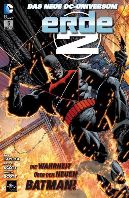 Erde Zwei Teil 4: Batmans Rückkehr - Das Cover