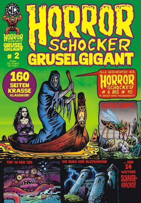 Horrorschocker Grusel Gigant 2 - Das Cover