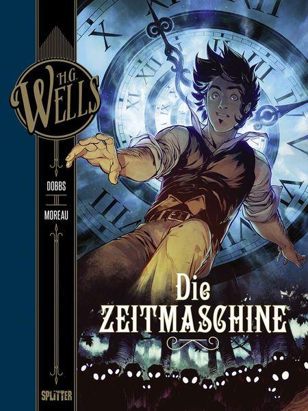 H.G. Wells – Die Zeitmaschine - Das Cover