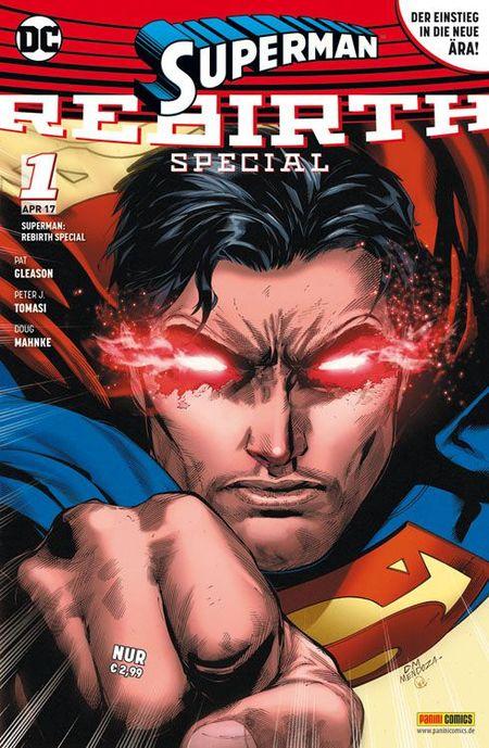 Superman: Rebirth Special - Das Cover