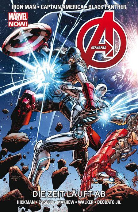 Marvel Now: Avengers 9 - Die Zeit läuft ab - Das Cover