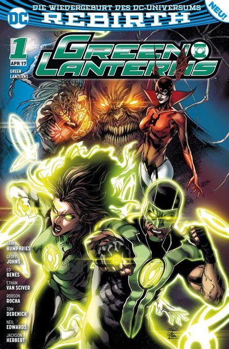 Green Lanters 1:Planet des Zorns - Das Cover