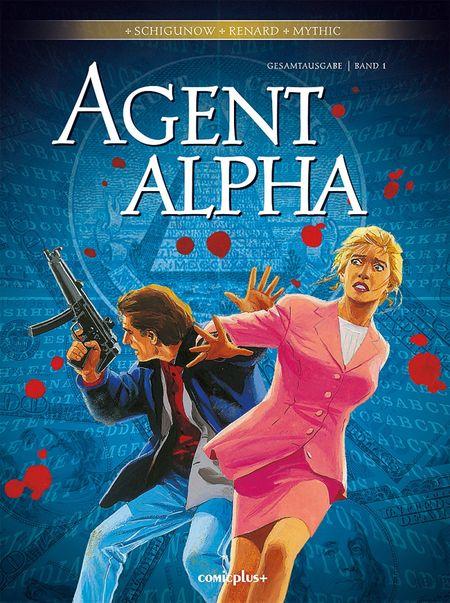 Agent Alpha – Gesamtausgabe Band 1 - Das Cover
