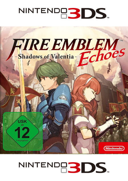 Fire Emblem Echoes: Shadows of Valentia - Der Packshot