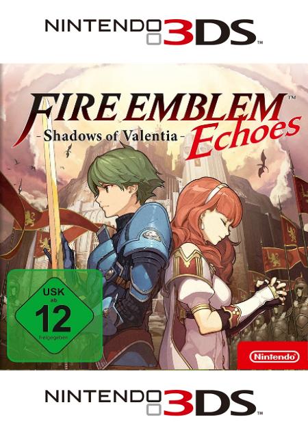 Fire Emblem Echoes: Shadows of Valentia - Der Packshot