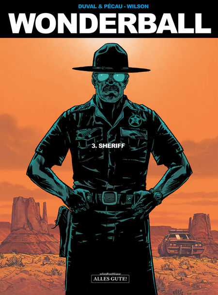 Wonderball 3: Sheriff - Das Cover
