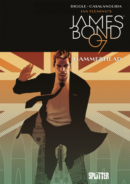 James Bond 007 3: Hammerhead - Das Cover