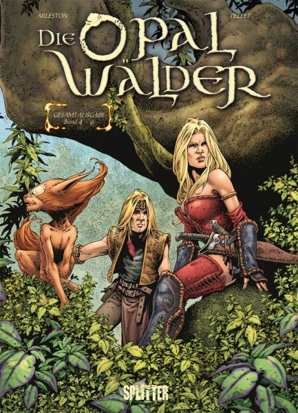 Die Opalwälder Gesamtausgabe 2 - Das Cover