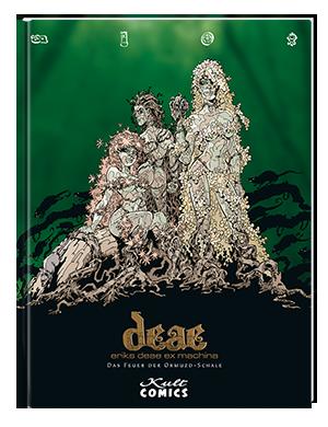 Deae ex Machina 4: Das Feuer der Ormuzd-Schale - Das Cover