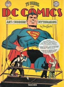 75 Jahre DC Comics. Die Kunst moderne Mythen zu erschaffen - Das Cover