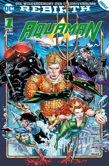 Aquaman 1 - Das Cover