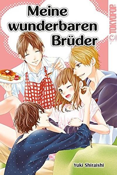 Meine wunderbaren Brüder - Das Cover