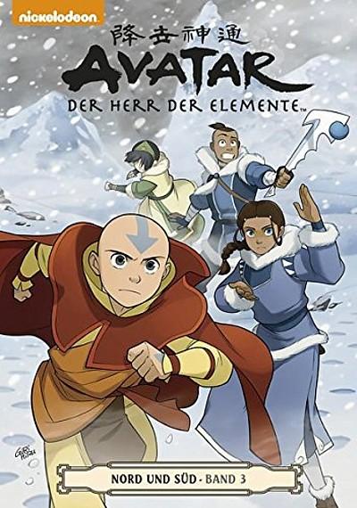 Avatar: Der Herr der Elemente Band 16: Nord und Süd 3 - Das Cover