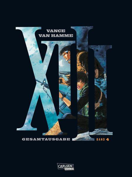 XIII Gesamtausgabe 4 - Das Cover