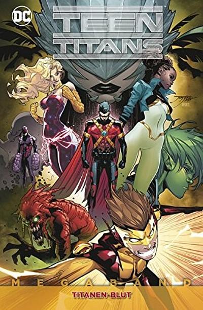 Teen Titans Megaband 2: Titanenblut  - Das Cover