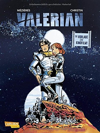 Valerian - Die Vorlage zum Kinofilm - Das Cover