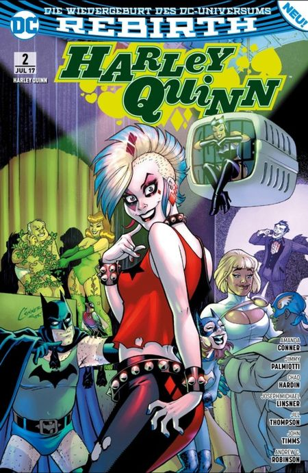 Harley Quinn (Rebirth) 2: Undercover-Punker - Das Cover