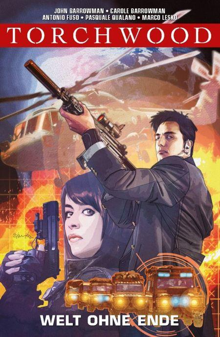 Torchwood 1: Welt ohne Ende  - Das Cover