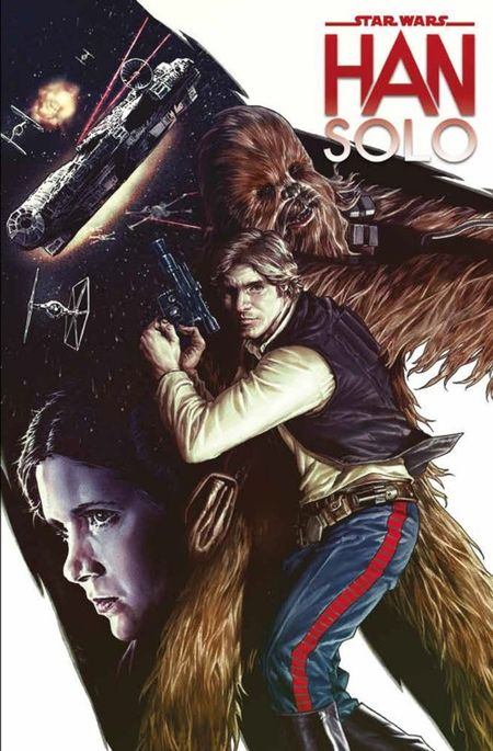 Star Wars Sonderband (96): Han Solo - Das Cover