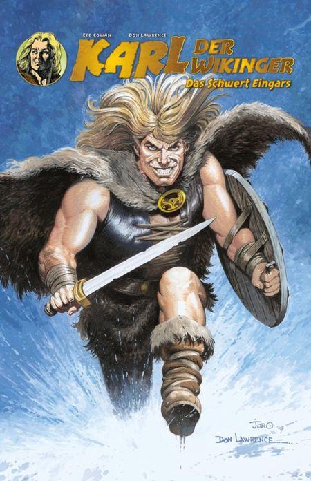 Karl der Wikinger 1: Das Schwert Eingars  - Das Cover