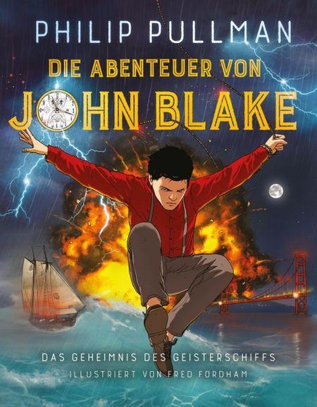 Die Abenteuer von John Blake: Das Geheimnis des Geisterschiffes - Das Cover