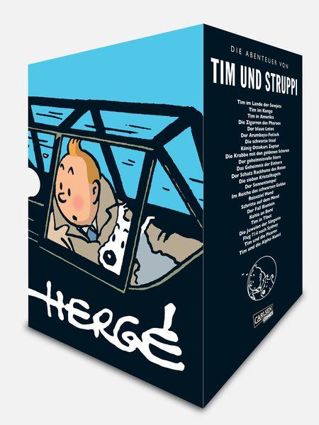Tim und Struppi - Gesamtausgabe - Das Cover